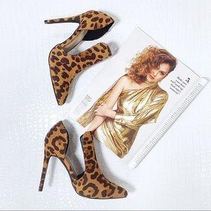 Leopard Print Cut Out Heel